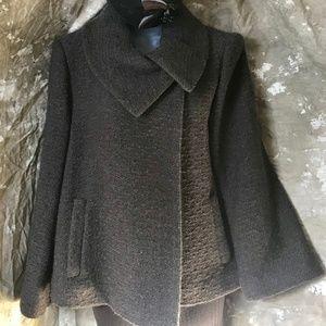 """Dark brown """"swing"""" style jacket, 12"""